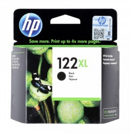HP 122XL Noir - Cartouche d'encre grande capacité HP d'origine (CH563HE)