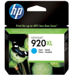 HP 920XL Cyan - Cartouche d'encre grande capacité HP d'origine (CD972AE)