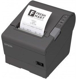 Imprimante étiquettes Epson TM-T88V Noire Série et USB + Alimentation PS 180