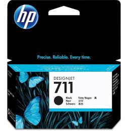 HP 711 Noir - Cartouche d'encre HP d'origine (CZ129A)