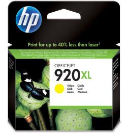 HP 920XL Jaune - Cartouche d'encre grande capacité HP d'origine (CD974AE)