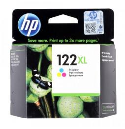HP 122XL trois couleurs - Cartouche d'encre grande capacité HP d'origine (CH564HE)