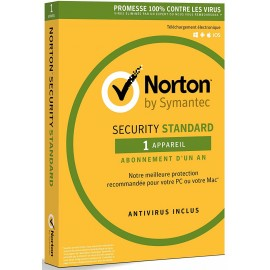 Norton Security Standard - 1 An - 1 Appareil (SY21367762)