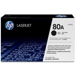 HP 80A Noir (CF280A) - Toner HP LaserJet d'origine