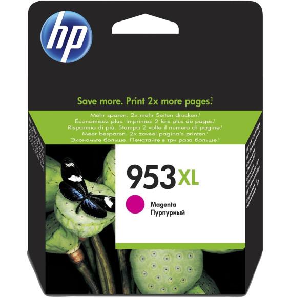 HP 953XL Magenta - Cartouche d'encre grande capacité HP d'origine (F6U17AE)