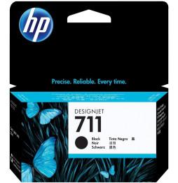 HP 711 Noir - Cartouche d'encre HP d'origine (CZ133A)