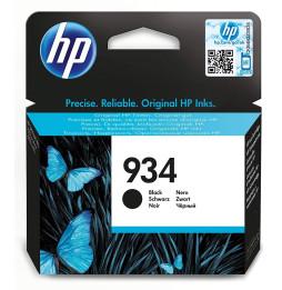 HP 934 Noir - Cartouche d'encre HP d'origine (C2P19AE)