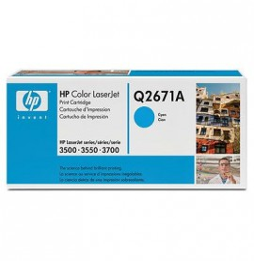 Cartouche de toner cyan HP 309A LaserJet (Q2671A)
