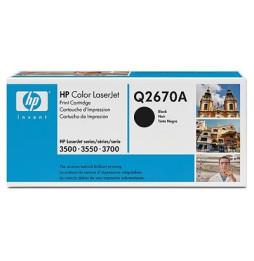 Cartouche de toner noir HP 308A Laserjet (Q2670A)