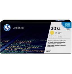 Cartouche de toner jaune HP LaserJet 307A (CE742A)