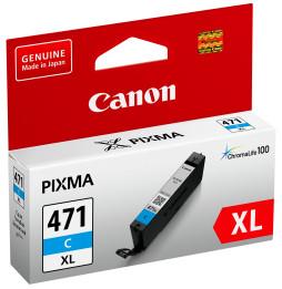 Cartouche d'encre d'origine Canon CLI-471XL C Cyan
