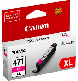 Cartouche d'encre d'origine Canon CLI-471XL M Magenta