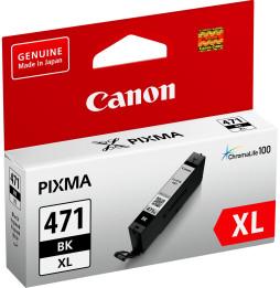 Cartouche d'encre d'origine Canon CLI-471XL BK Noir