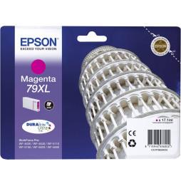 """Epson 79XL Magenta - Cartouche d'encre Epson """"TOUR DE PISE"""" d'origine (C13T79034010)"""