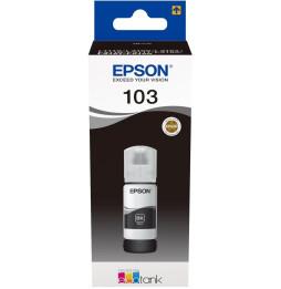 Bouteille d'encre Noir 103 EcoTank/ITS - 65 ml (C13T00S14A)