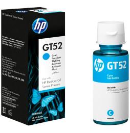 HP GT52 Cyan - Bouteille d'encre HP d'origine (M0H54AE)