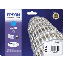 Cartouche d'encre EPSON (TOUR DE PISE) T7912 - Cyan (C13T79124010)