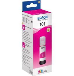 Bouteille d'encre Epson EcoTank 101 - Magenta (C13T03V34A)
