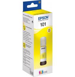Bouteille d'encre Epson EcoTank 101 - Jaune (C13T03V44A)