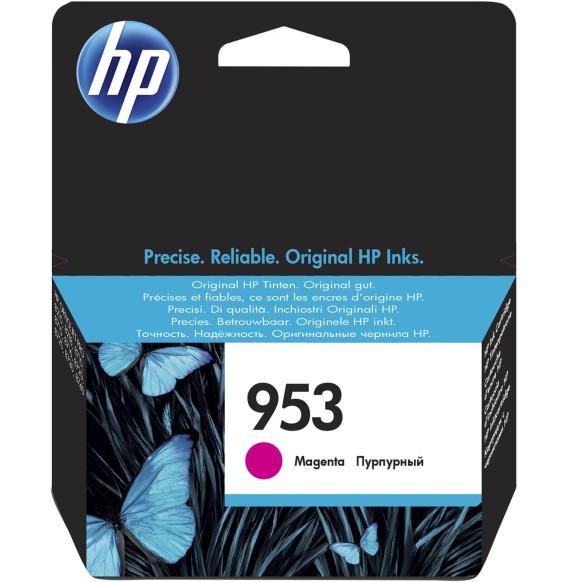 HP 953 Magenta - Cartouche d'encre HP d'origine (F6U13AE)