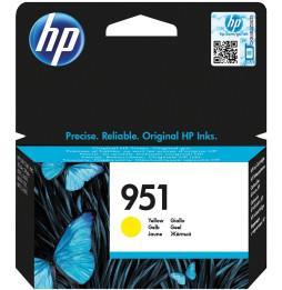 HP 951 Jaune - Cartouche d'encre HP d'origine (CN052AE)