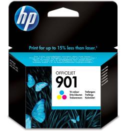 Cartouche d'encre trois couleurs HP 901 Officejet (CC656AE)