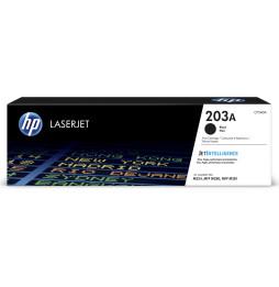 Cartouche de toner HP 203A LaserJet Noir - Cartridge 1,400(CF540A)