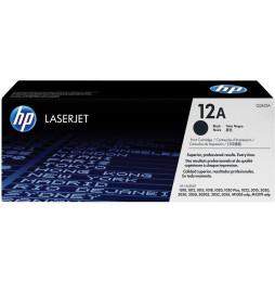 HP 12A Noir (Q2612A) - Toner HP LaserJet d'origine