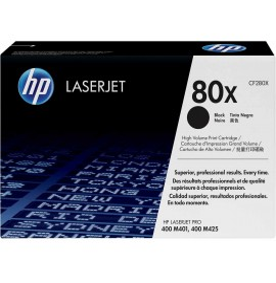 HP 80X Noir (CF280X) - Toner grande capacité HP LaserJet d'origine