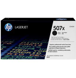 HP 507X Noir (CE400X) - Toner grande capacité HP LaserJet d'origine