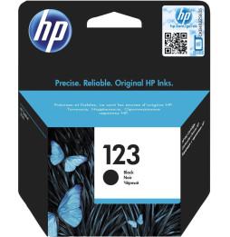 Cartouche d'encre noire authentique HP 123 (F6V17AE)