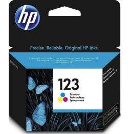 HP 123 trois couleurs - Cartouche d'encre HP d'origine (F6V16AE)