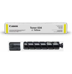 Canon 034 Jaune - Toner Canon d'origine (9451B001AA)