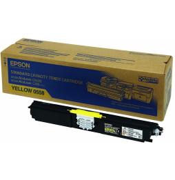 Toner Epson Jaune Capacité Standard (1 600 pages) (C13S050558)