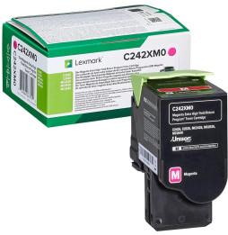 Lexmark Magenta (C245XM0) - Toner Lexmark programme de retour - 3500