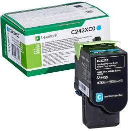 Lexmark Cyan (C245XC0) - Toner Lexmark programme de retour - 3500