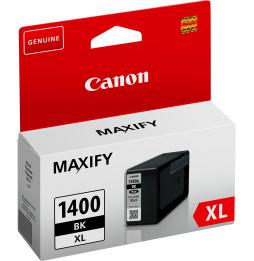 Canon PGI-1400XL BK Noir - Cartouche d'encre grande capacité Canon d'origine (9185B001AA)