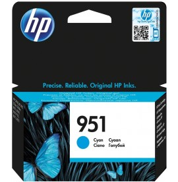 HP 951 Cyan - Cartouche d'encre HP d'origine (CN050AE)