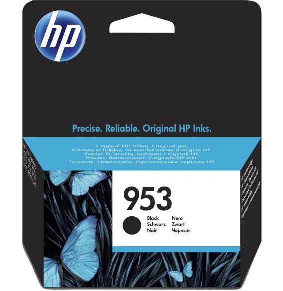 HP 953 Noir - Cartouche d'encre HP d'origine (L0S58AE)