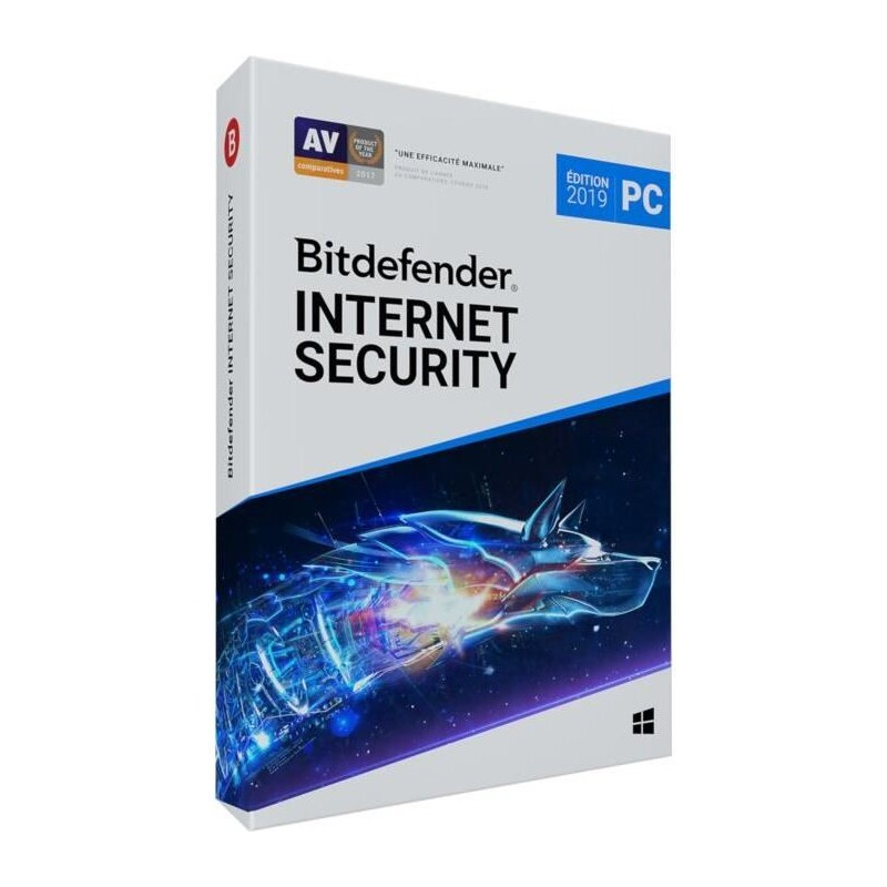 Bitdefender Internet Security 2019 1 AN 1 PC