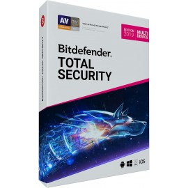 Bitdefender Total Security 2019 1 AN 3 PC