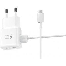 Chargeur Secteur Samsung Travel Adapter - Type C- Chargement Rapide (EP-TA20EWSCGCH)