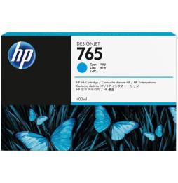 HP 765 Cyan - Cartouche d'encre HP d'origine (F9J52A)