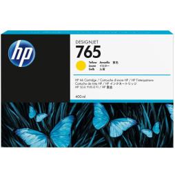 HP 765 Jaune - Cartouche d'encre HP d'origine (F9J50A)