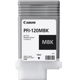 Canon PFI-120 Noir mat - Cartouche d'encre Canon d'origine (2884C001AA)
