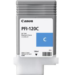 Canon PFI-120 Cyan - Cartouche d'encre Canon d'origine (2886C001AA)