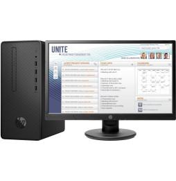 Ordinateur de bureau HP Pro G2 Microtour avec Écran (5QL05EA)