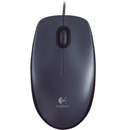 Souris filaire Logitech Mouse M90 - USB