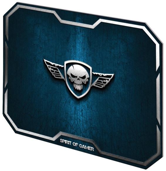 Tapis de souris de jeu SpiritOfGamer Winged Skull
