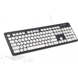 Logitech Washable Keyboard K310 - Clavier filaire lavable (AZERTY, Français)